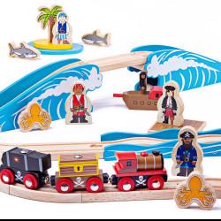 Piraten treinset