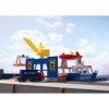 Vrachtschip met havenkraan