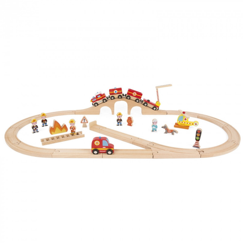 Brandweer treinbaan
