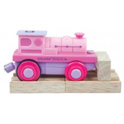 Elektrische locomotief roze