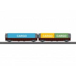 Set containerwagens