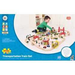 Treinset transport