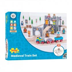 Middeleeuwse treinset