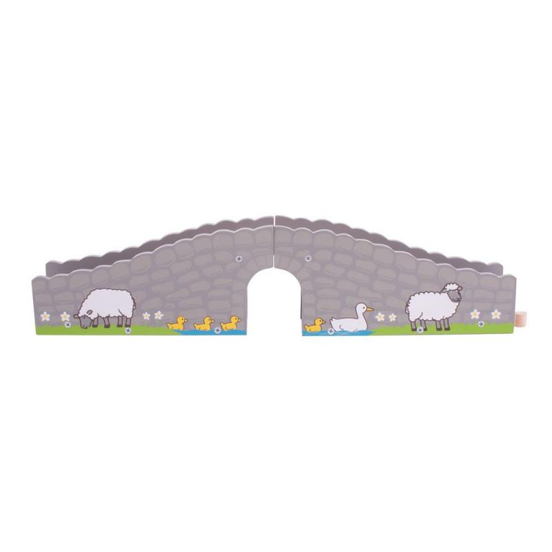 Boerderij brug