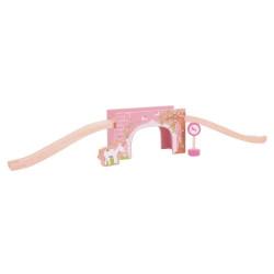 Roze boogbrug