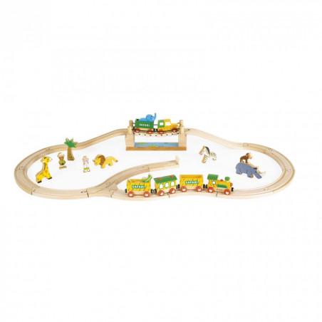 Safari treinbaan