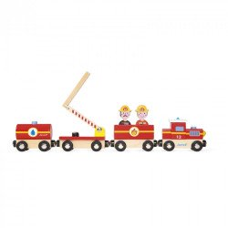 Brandweer trein