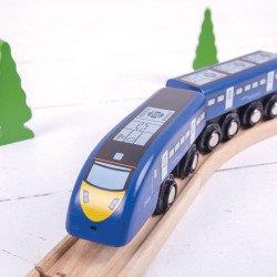 Hoge snelheidstrein trein