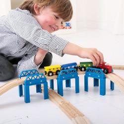 Constructie bruggen set