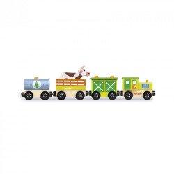 Boerderij trein
