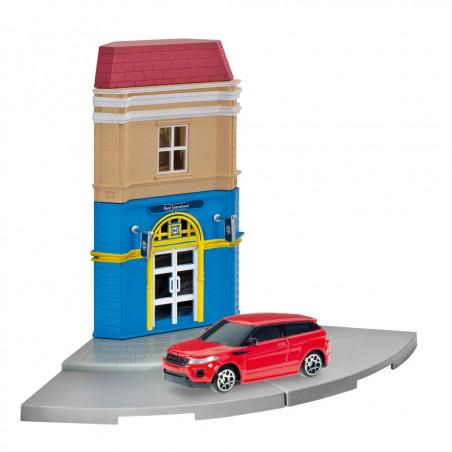 Herpa City Hotel + Range Rover Evoque