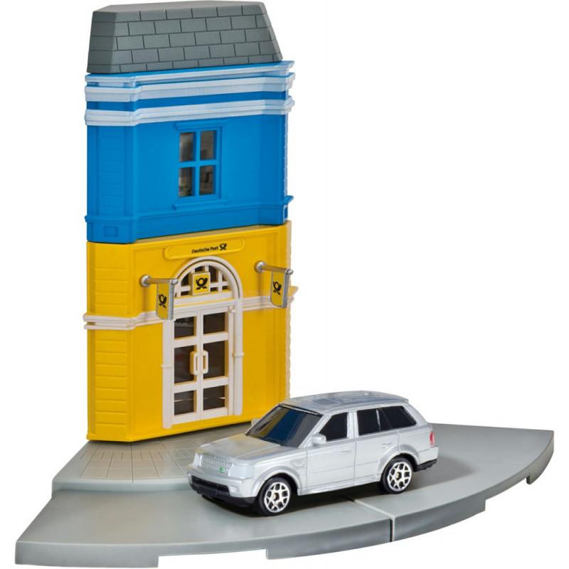 Herpa City Postkantoor + Range Rover Sport