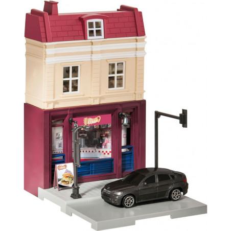 Herpa City Kebabzaak + BMW X6