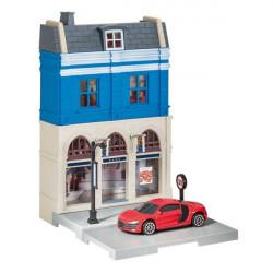 Herpa City Bank + Audi R8 V10