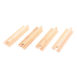 Rechte medium rails | Set van 4