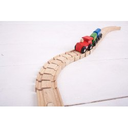 Buigzame rails | 2 stuks