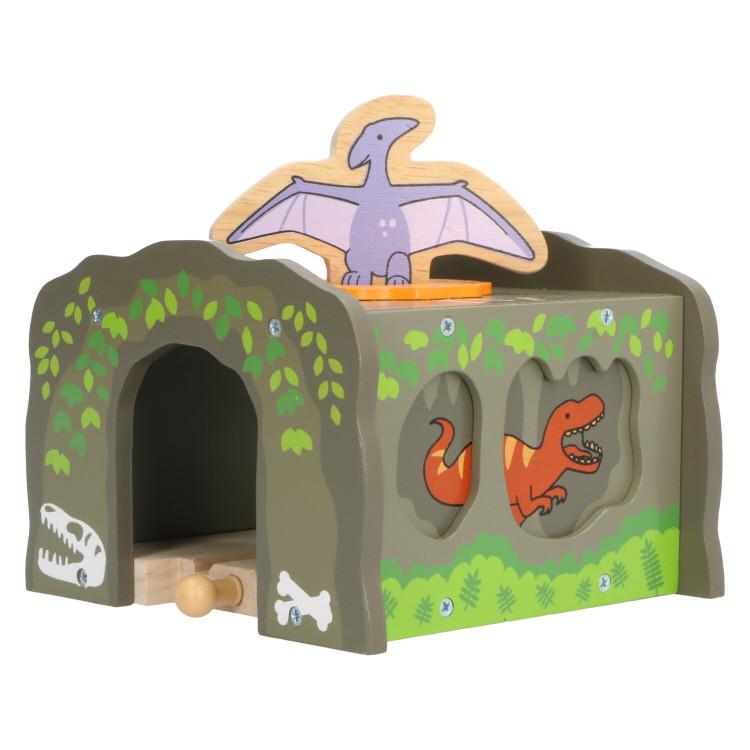T-Rex Tunnel - beschadigde doos